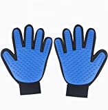 EASTOP Pet Grooming Glove As Seen On Tv Pet Grooming Glove Left Hand Pet Grooming Glove Pairs (2 packs) (Left hand + right hand)