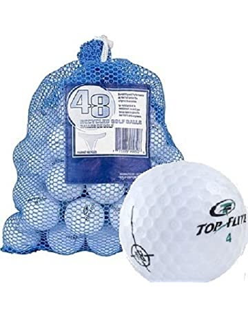 89ac24e68598 Top Flite 48 Recycled Golf Balls in Mesh Bag - 577412