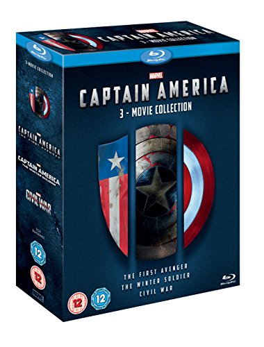 with Captain America DVD's design