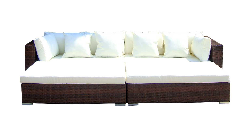 Gartenmöbel set rattan lounge  Baidani Gartenmöbel-Sets 10d00001.00002 Designer Rattan Lounge ...