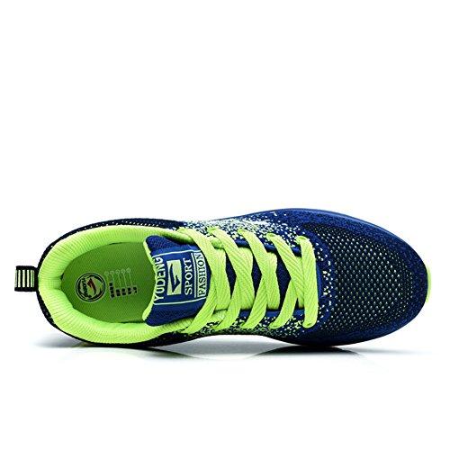 Damen Profilsohle Leichtes Grün Air Sneakers Laufschuhe TORISKY Sportschuhe Schuhe Herren Turnschuhe 6w58qXZ