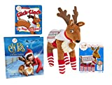Elf on the Shelf - Elf Pets: A Reindeer Tradition with Polar Pattern Set for Reindeer and The Scout Elves Present: Click-Clack! It's Your Reindeer! Book
