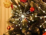 3PK Twinkling Fairy Lights,108 String Light Decorate,Bettery Operated Hanging Starburst,Decor  for Christmas Bedroom Indoor Outdoor Home Patio Wedding Party