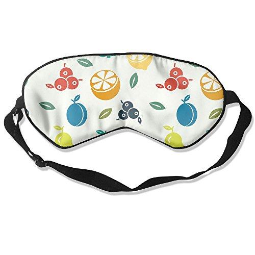 Silk Sleeping Mask Eye Fruit Lightweight Soft Adjustable