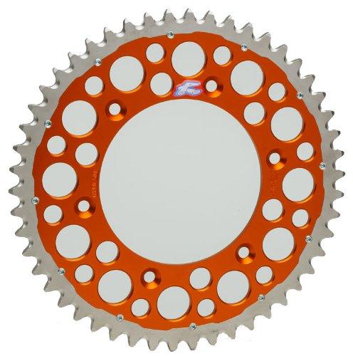 Renthal 2240-520-48GPOR Twinring Orange 48-Tooth Chain Wheel