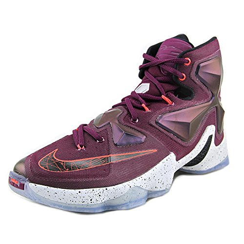 wholesale dealer a164b ec30c Nike Men s Lebron XIII Mulberry Blk Pr Pltnm Vvd Prpl Basketball Shoe - 9  D(M) US