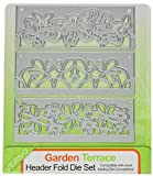 Tonic Studios 597e Header Fold Die Set, Garden Terrace