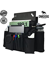 """Car Front Passenger Seat Organizer with Laptop & Tablet Storage by DMoose (17""""X14"""") – Adjustable Straps, Strong Buckles, Neoprene Thermal Pockets – Keep Car Necessities Organized and Within Easy Reach BOBEBE Online Baby Store From New York to Miami and Los Angeles"""