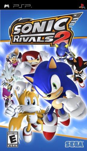 Amazon Com Sonic Rivals 2 Sony Psp Psp Video Games