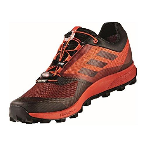 Adidas Mannen Terrex Trail Maker Gtx Trekking & Wandelen Lage Schoenen, Groen, 50,7 Eu Verschillende Kleuren (energi / Negbas / Ftwbla)