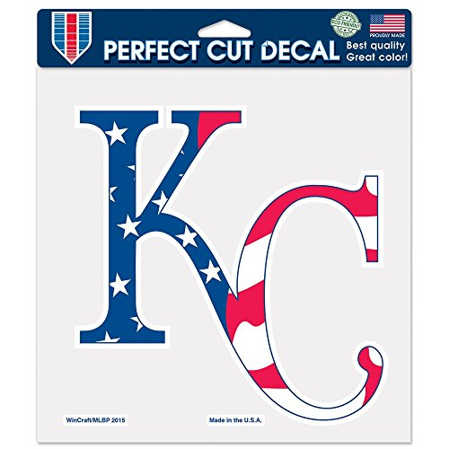 MLB Kansas City Royals 29828015 Perfect Cut Color Decal, 8