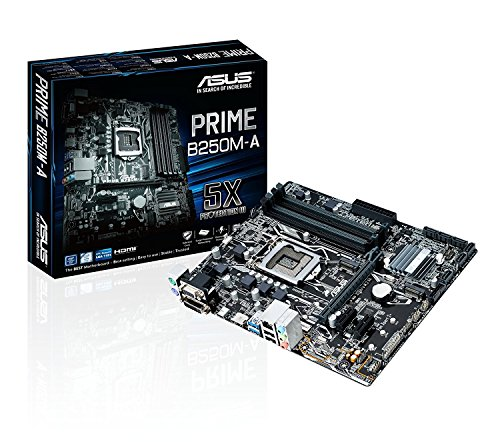 GA1151 DDR4 HDMI DVI VGA M.2 B250 mATX Motherboard with USB 3.1 ()