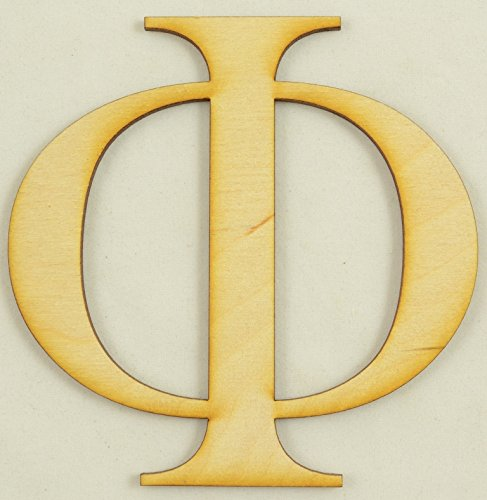 Phi Greek Letter (CMPhi Phi Greek Letter Size:3 Inch Thickness:1/4
