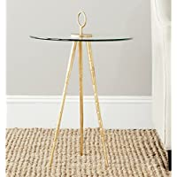 Safavieh Home Collection Delma Gold Accent Table