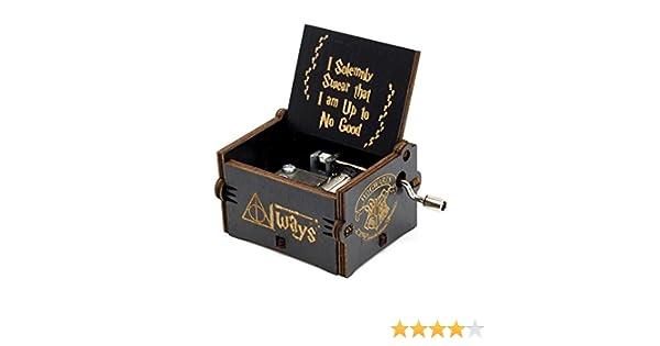 Huntmic Hedwigs Theme Harry Potter Caja de Música, de Madera ...