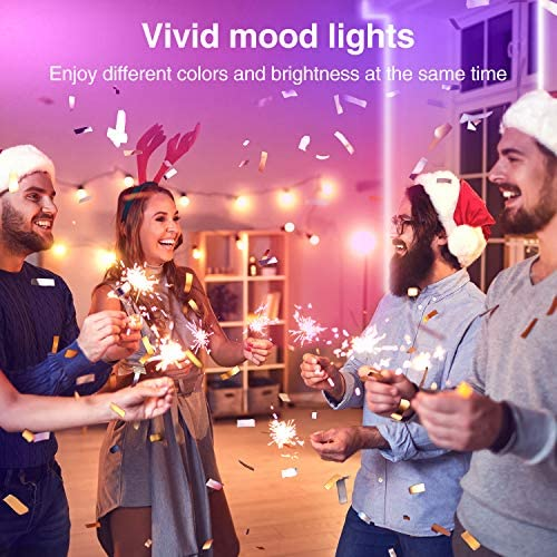 Led Strip Lights, Gosund Smart Wifi Led Lights 16.4ft Works with Alexa and Google Home, App Control, 16 Million Colors, Music Sync, Rgb Color Changing Led Strips for Bedroom, Home, Tv, Kitchen, Party