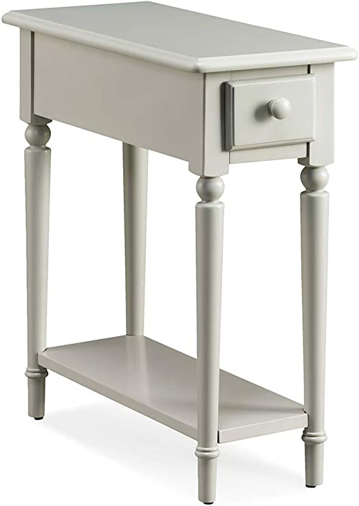 Leick Coastal Notions Console Table with Shelf in Regatta Blue