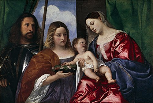 'Titian [Vecellio Di Gregorio Tiziano] The Virgin And