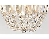 Delica Home 9'' Height Polished Chrome Crystal