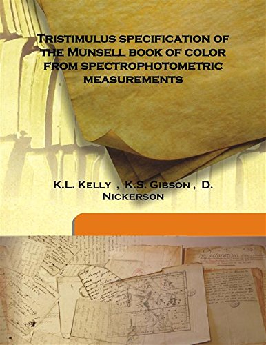 Tristimulus specification of the Munsell book of color from spectrophotometric measurements