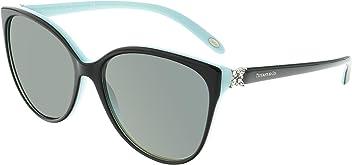 29a36f4e6f Tiffany And Co. Women's Polarized TF4089B-8055T3-58 Blue Butterfly  Sunglasses