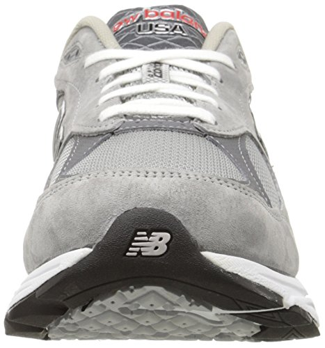 New Balance  M990gl3, Course à pied - Stabilité homme - - Grey with White, 41 (7.5 UK)
