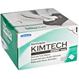 "Kimberly-Clark Kimtech Science Kimwipes Delicate Task Disposable Wiper, 8-25/64"" Length x 4-25/64"" Width, White"