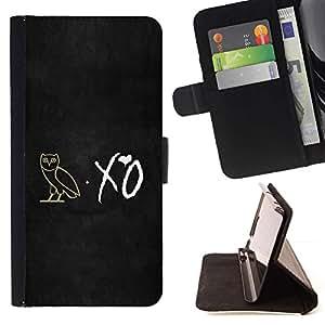 For Sony Xperia M4 Aqua Case , XO noctámbulo- la tarjeta de Crédito Slots PU Funda de cuero Monedero caso cubierta de piel