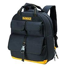 DeWalt DGC530 USB Charging Tool Back Pack, 23 Pocket, Black/Yellow