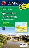Spanischer Jakobsweg 1:100.000