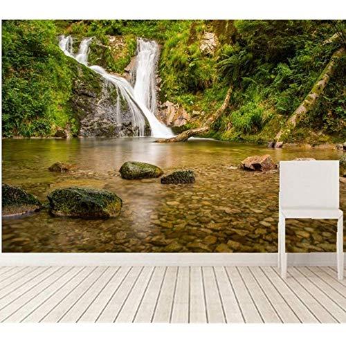 Pbldb Custom Large Murals,Waterfalls Forests Stones Germany Rivers Nature Wallpaper,Living Room Sofa Tv Wall Bedroom -150X120Cm