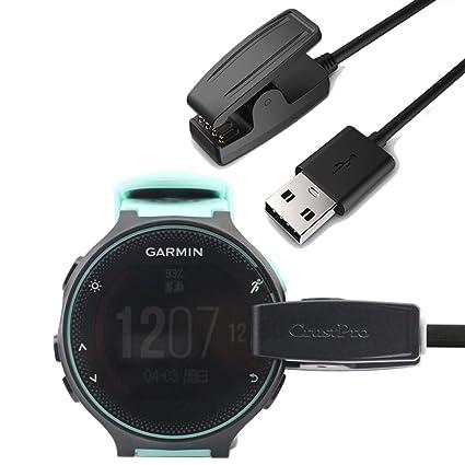Amazon.com: Cargador USB para Garmin Forerunner 35 230 235 ...