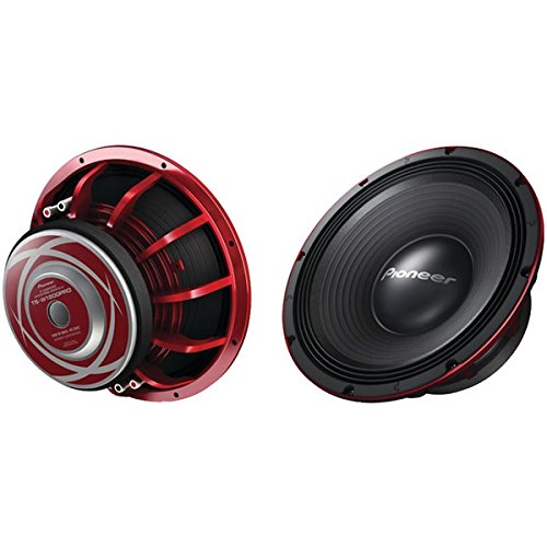 (Pioneer TSW1200PRO 12-Inch 1500W RIBEDGE/EAC)