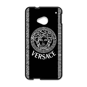 HTC One M7 Phone Case for VERSACE LOGO pattern design GQVSELG0719083