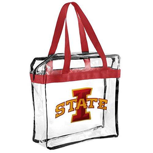 FOCO Iowa State Clear Messenger Bag