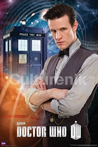 Doctor Who The Eleventh Doctor Matt Smith Sci Fi British TV Television Show Poster Print