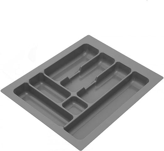 met/álico 30cm 250x490mm Cuberter/ía de pl/ástico para cajones de cocina W
