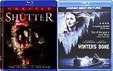 Winter's Bone + Shutter Unrated 2 Pack Drama Thriller Horror Movie Set