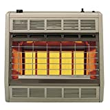 Empire Infrared Heater Liquid Propane 30000 BTU, Thermostatic Control