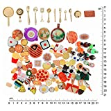 SIX VANKA Miniature Food Drinks Toys 110pcs Mixed