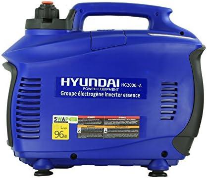 Hyundai HG2000i Generador, 1500 W, 230 V: Amazon.es: Bricolaje y ...