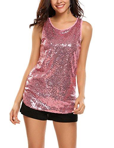 Pink Tank Top Shirt - 4