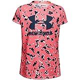 Under Armour Girls' Novelty Big Logo Short Sleeve T-Shirt