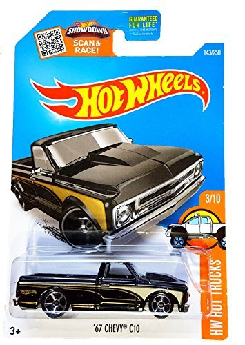 Hot Wheels, 2016 HW Hot Trucks, '67 Chevy C10 [Black] for sale  Delivered anywhere in Canada