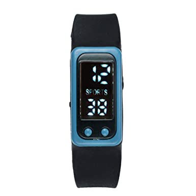 e4286abda3 Femme Montre Mécanique Manuelle Simple,Marchez pas étape montre bracelet  podomètre compteur de calories numérique