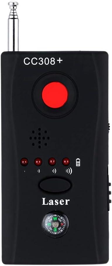 Hangang Detector De Micrófonos Ocultos Microespías CC308 Detector Anti-Espía De Rf Para, Micrófono Oculto Inalámbrico Y Aparatos De Escuchar