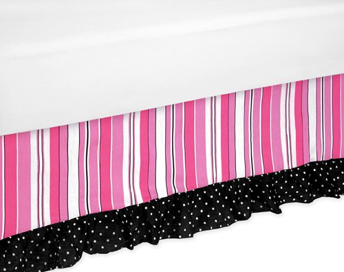 Madison Bed Skirt for Toddler Bedding Sets by Sweet Jojo Designs by Sweet Jojo Designs