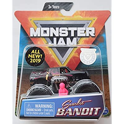 Monster JAM 1:64 Scale, Scarlet Bandit All New 2020: Toys & Games