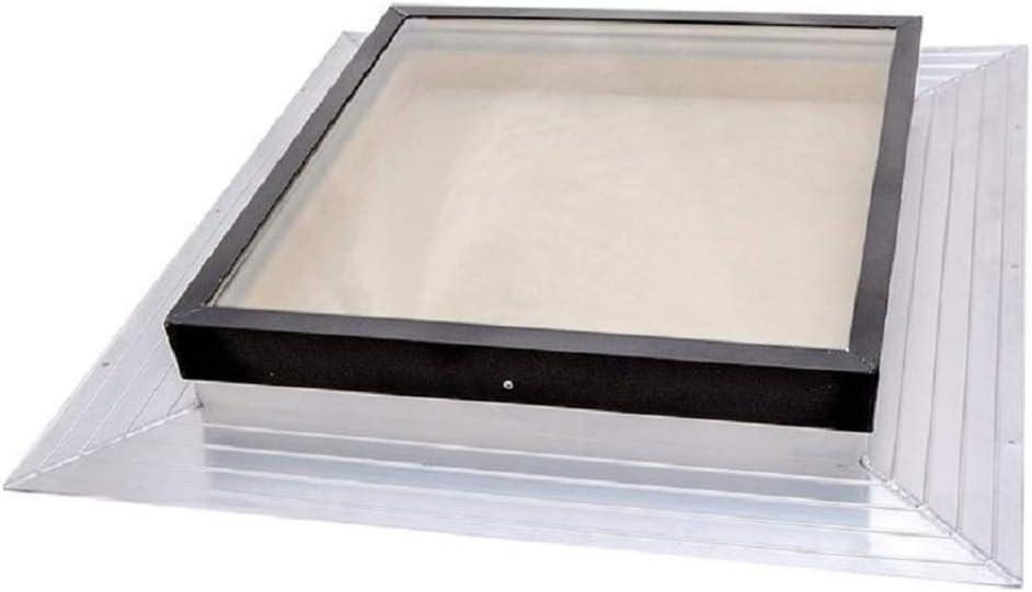 Self-Flashed Glass Home Skylight Window SIG Skylights 13.5 x 24 Deck Mounted