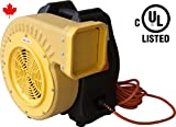 1.0 HP Zoom Blower Canadian UL Adjustable Performance Super High Output Commercial Bounce House Blower